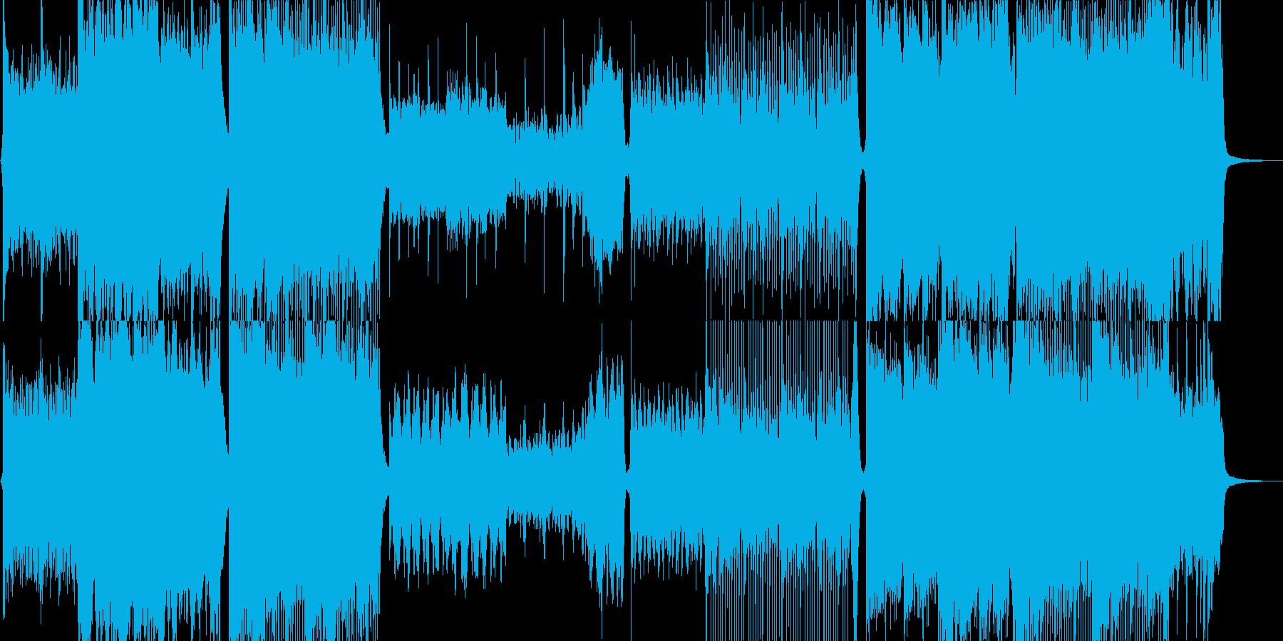 リマスター版の再生済みの波形