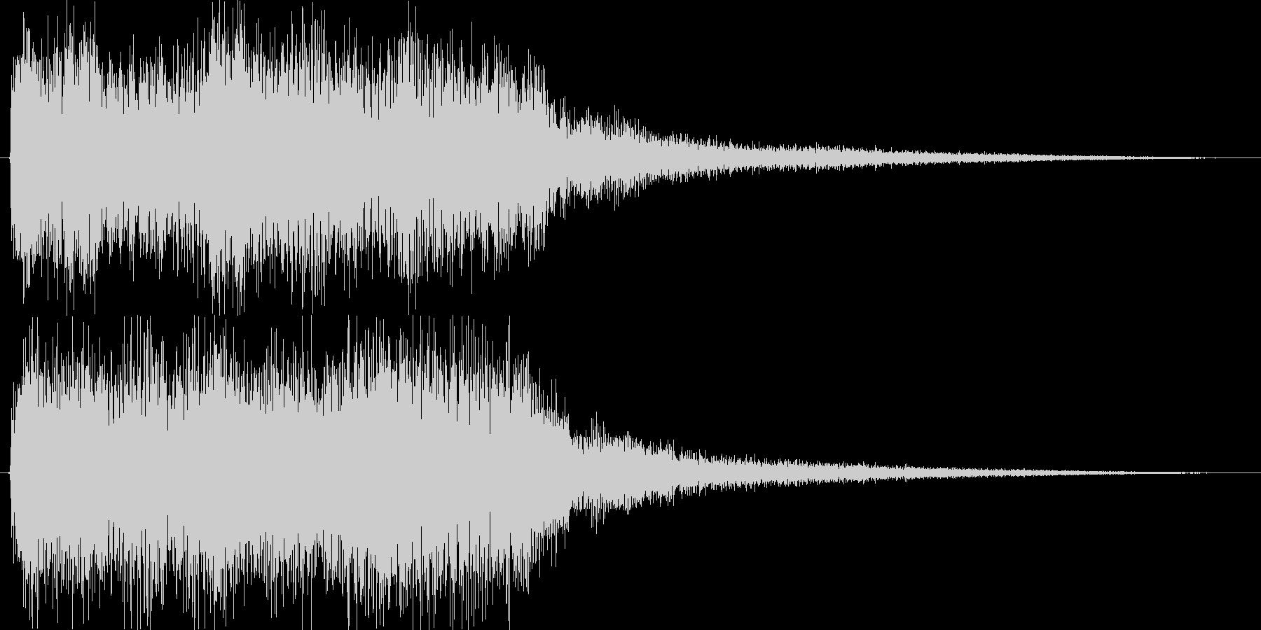 クラシックなイベントロスト曲3の未再生の波形
