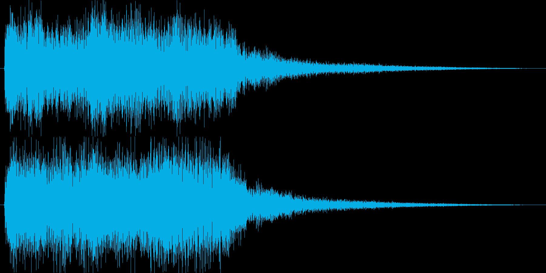 クラシックなイベントロスト曲3の再生済みの波形