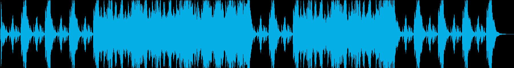 冒険の始まりBGM オーケストラ曲の再生済みの波形