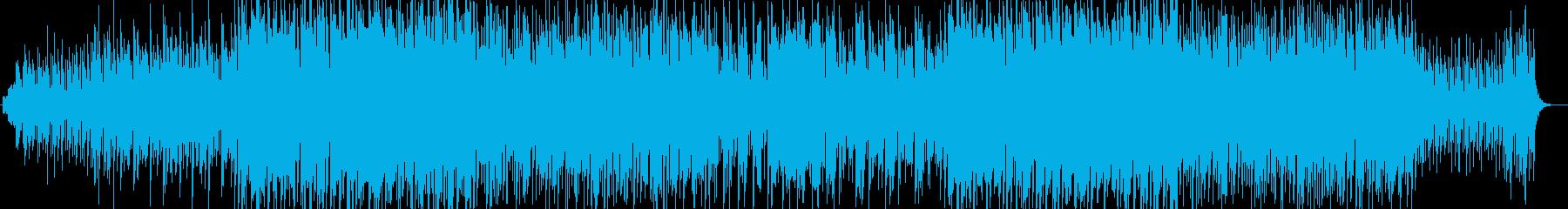 絵本の世界ピアノやシンセのサウンドの再生済みの波形