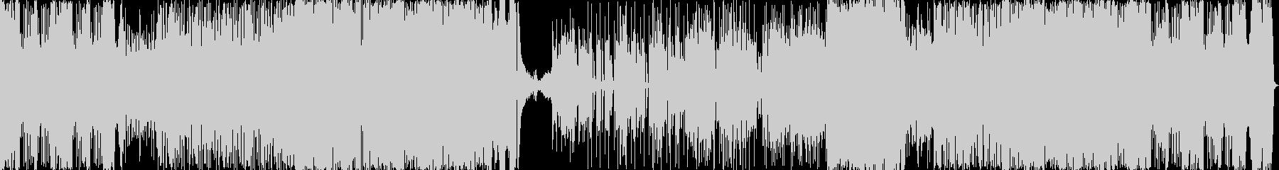 ルパン三世風ジャズの未再生の波形
