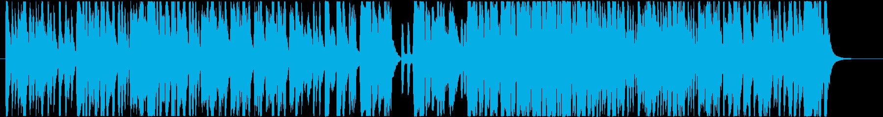 日常系ほのぼの/ピアノクラリネット等の再生済みの波形