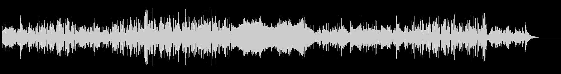 クロスオーバーなピアノ・サウンドの未再生の波形