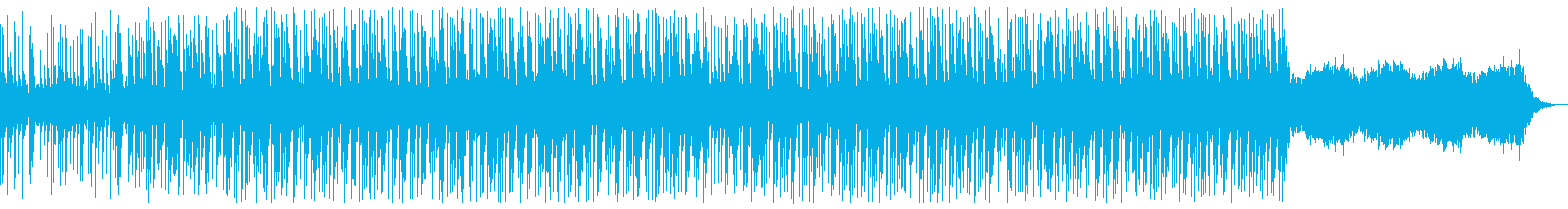 幻想的で夢の中にいるようなトラップビートの再生済みの波形