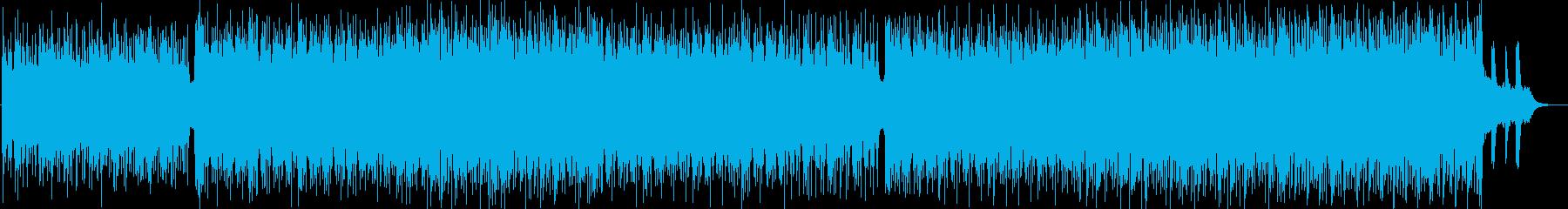 軽快でスタイリッシュなテクノサウンドの再生済みの波形
