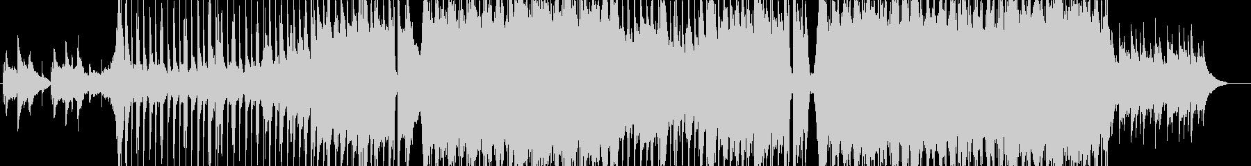 壮大なピアノバラードの未再生の波形
