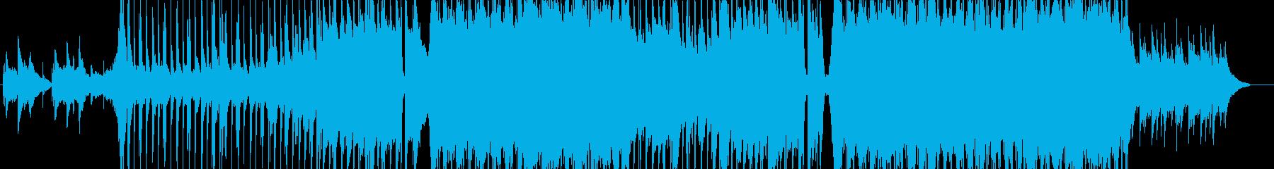 壮大なピアノバラードの再生済みの波形
