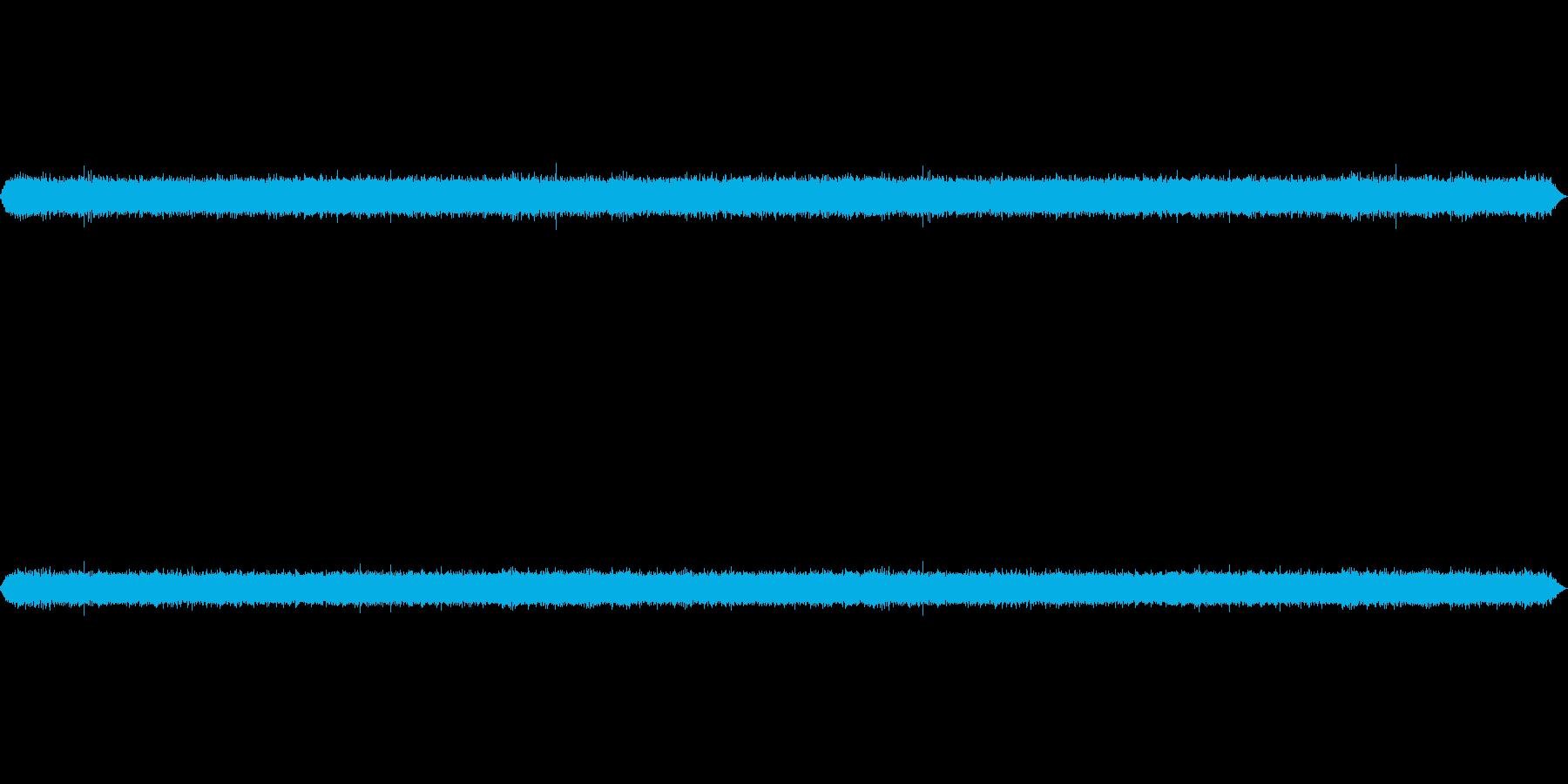 滝音~小さめの滝 3 【生録音】の再生済みの波形
