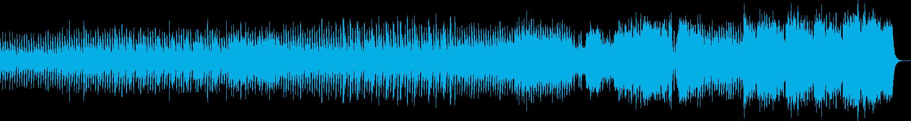 ワルツでしっとり系の不気味・ホラーの曲の再生済みの波形