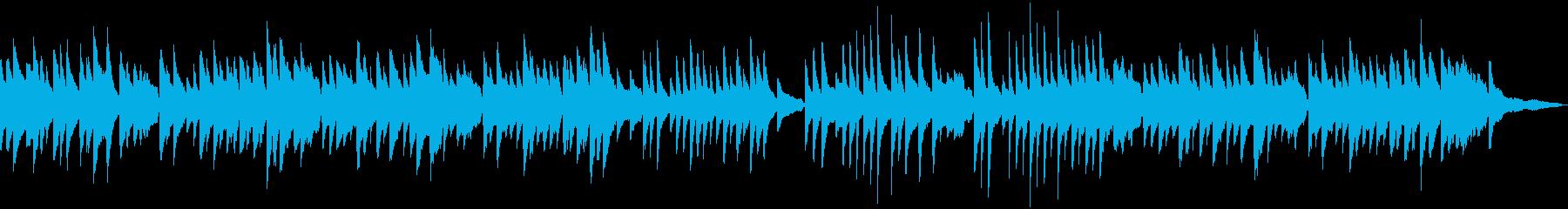 童謡「赤とんぼ」のソロピアノの再生済みの波形