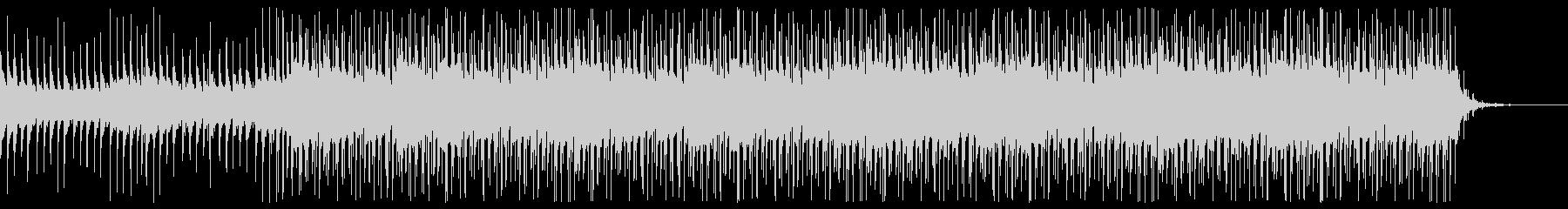 トロピカルなエレクトロビートの未再生の波形