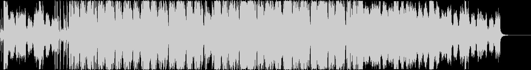 疾走感あるオーケストラのボス戦闘曲の未再生の波形
