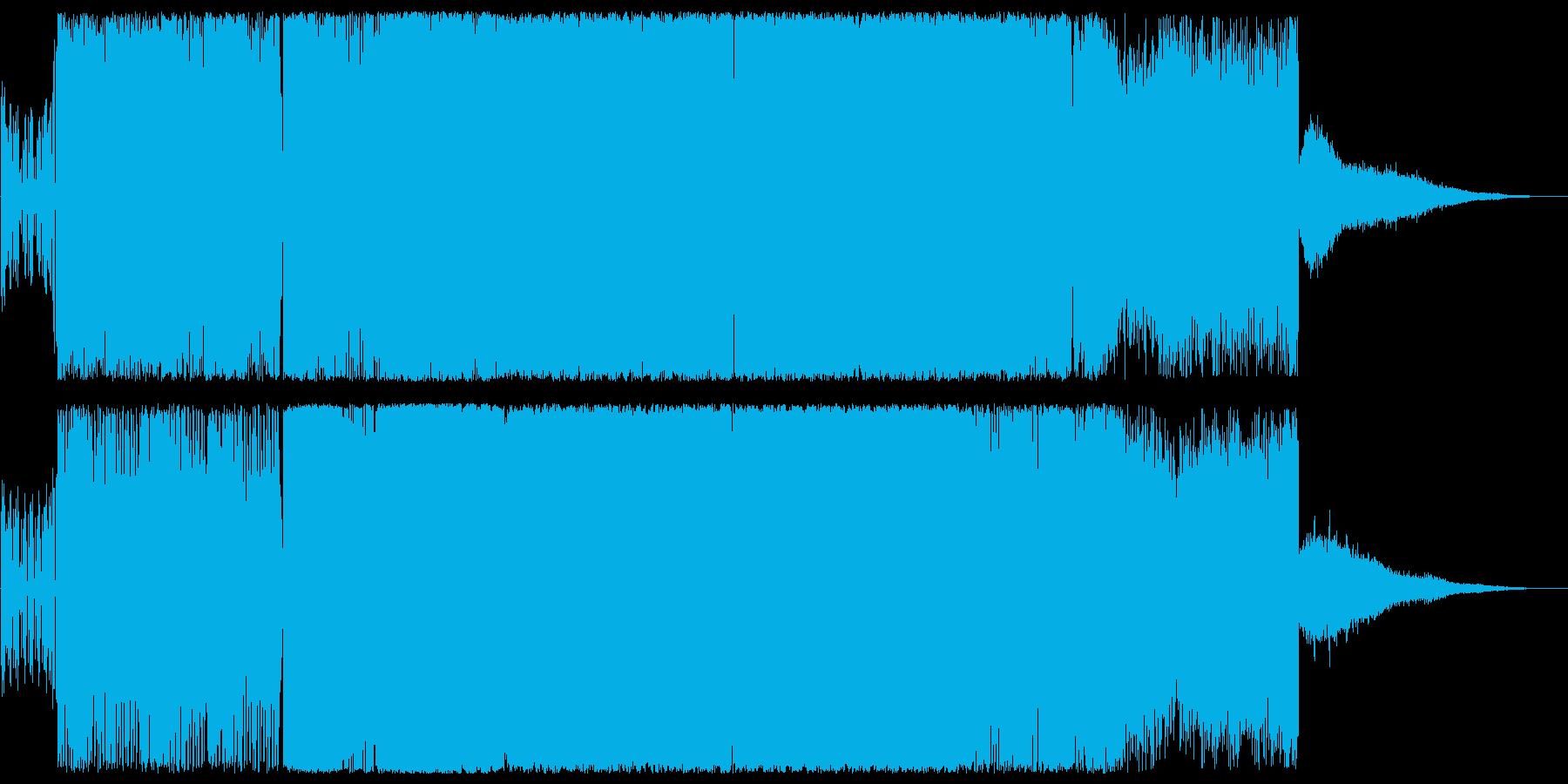 神秘的で近未来的なテクノビートポップの再生済みの波形