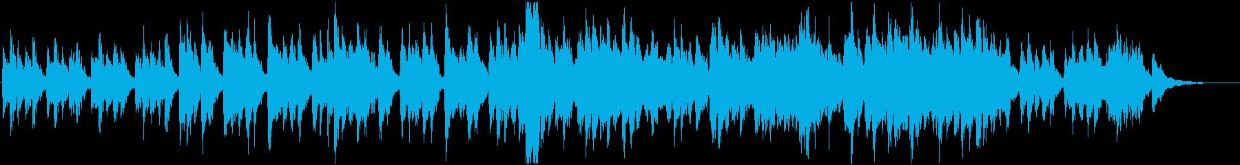 シネマティック 魔法 説明的 ポジ...の再生済みの波形