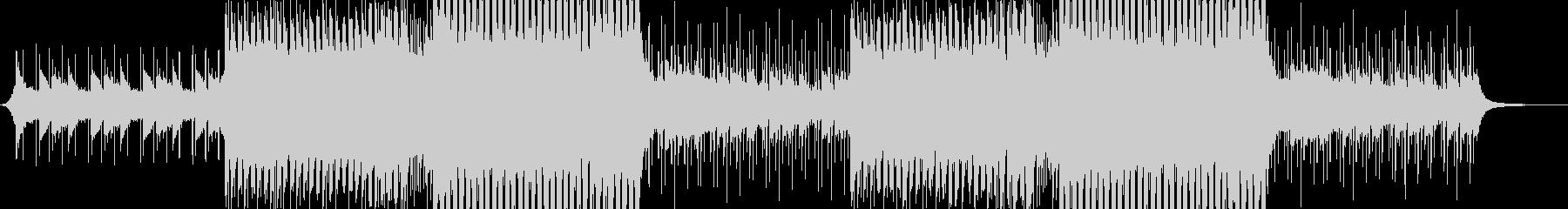 洋楽感のある夏らしいトロピカルハウス3の未再生の波形
