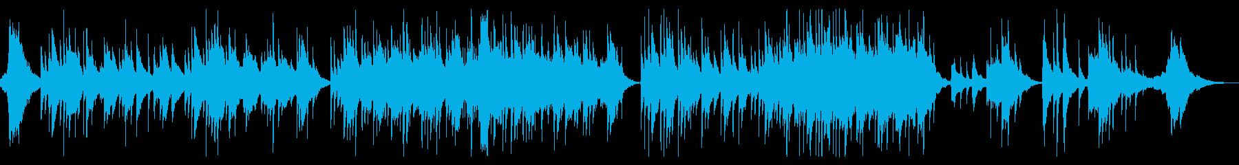 生演奏《 クラシカルで美しいハープの曲》の再生済みの波形