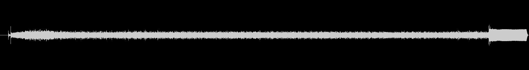 【生音】かちびーーーぴーー!レンジの音の未再生の波形