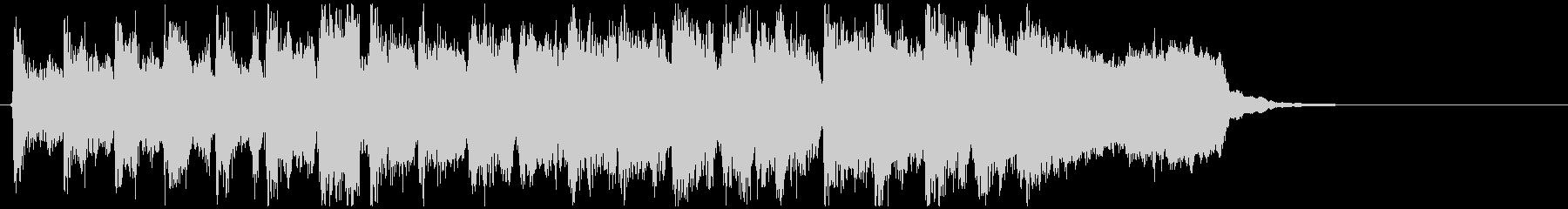 リコーダー&フルートの勝利ファンファーレの未再生の波形