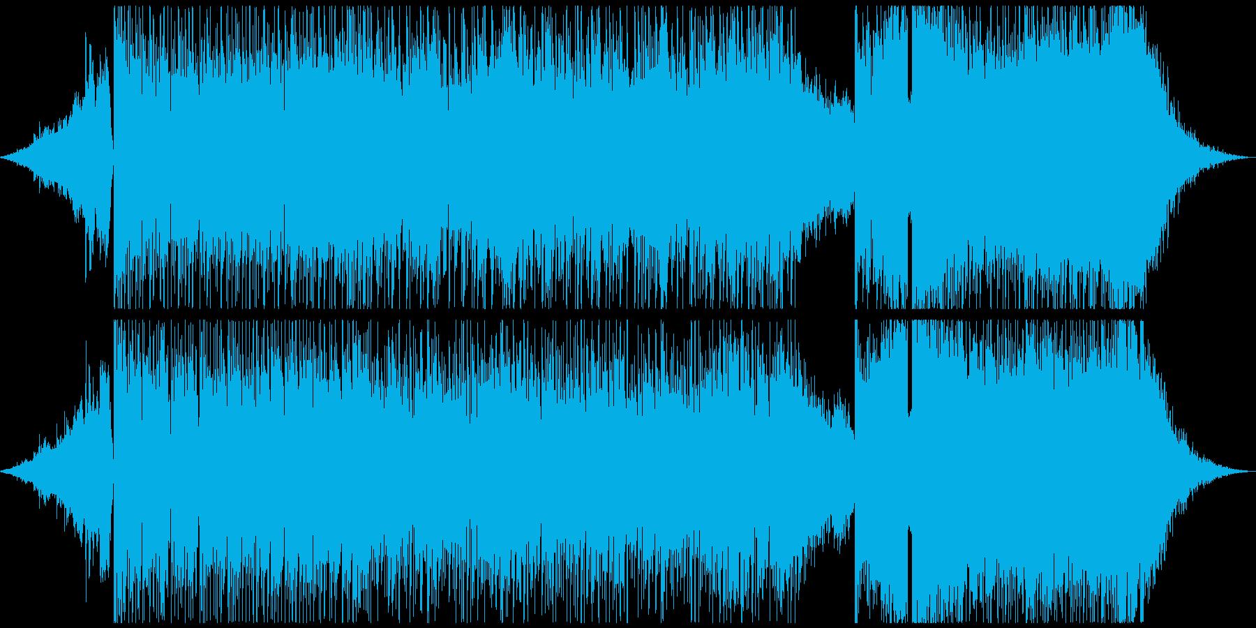 スタイリッシュ!サイバーで激しいロックの再生済みの波形
