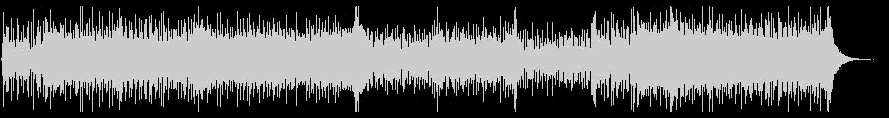 スラップベースと和太鼓の未再生の波形