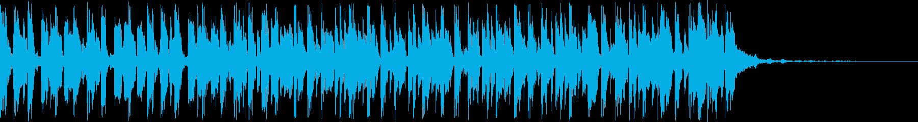 パンデイロ、パーカッション、ドラム...の再生済みの波形