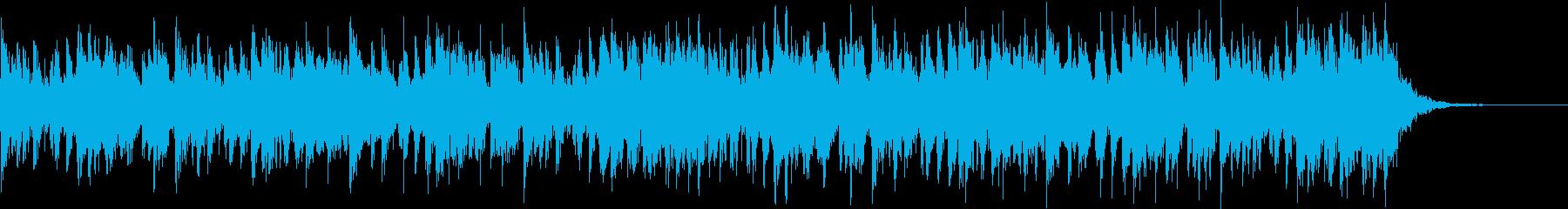 アップテンポで渋く激しい和太鼓+三味線の再生済みの波形