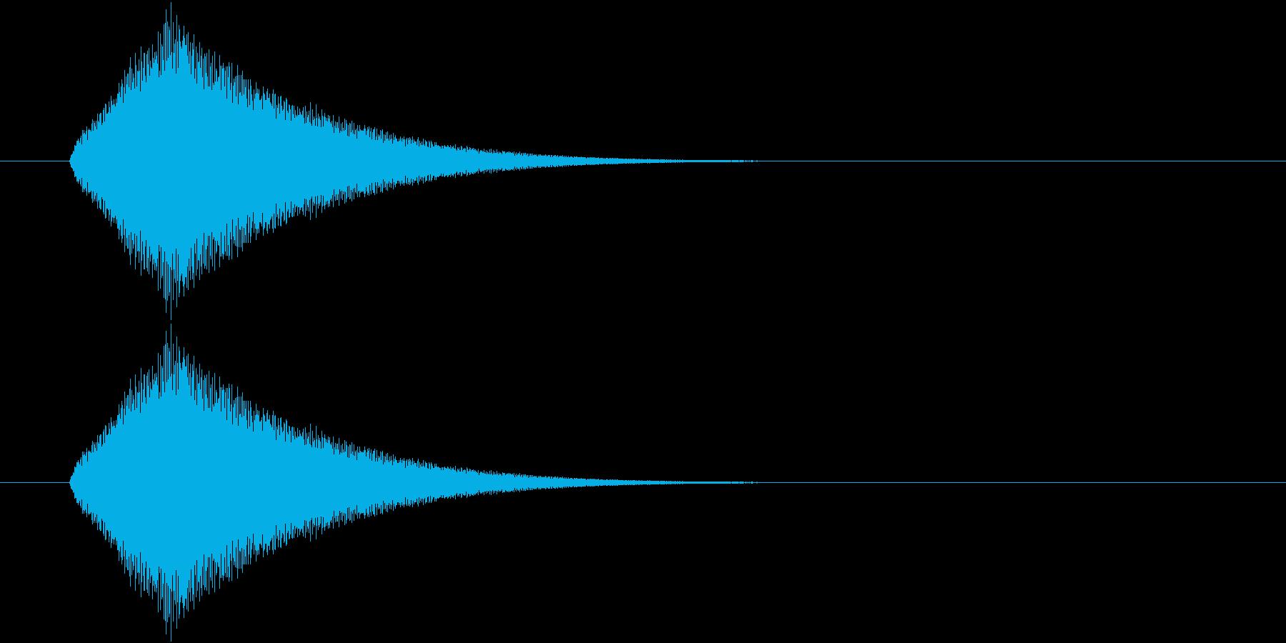 聖なる感じ・光が差すイメージの音の再生済みの波形