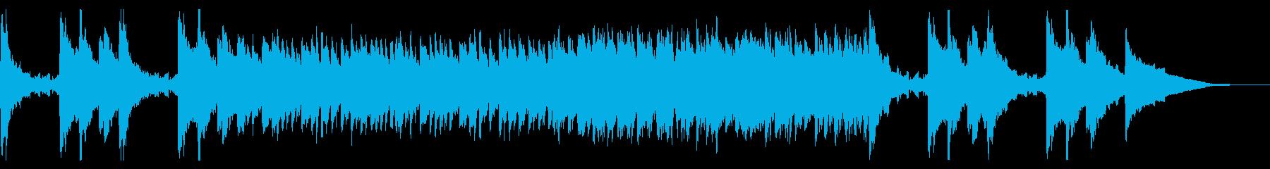 しっとり切ないピアノ旋律によるバラードの再生済みの波形