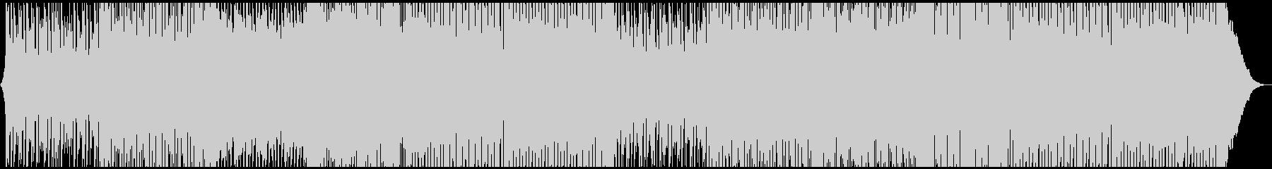 ノスタルジックなトロピカルハウスの未再生の波形