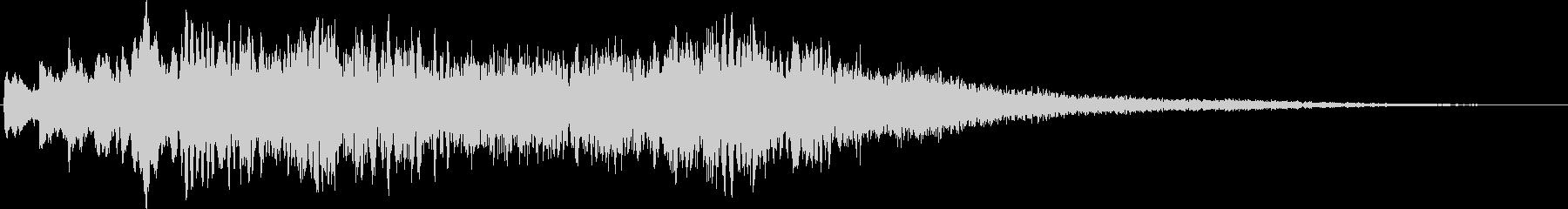 ピアノ:劇的なピッチのはしごがサウ...の未再生の波形