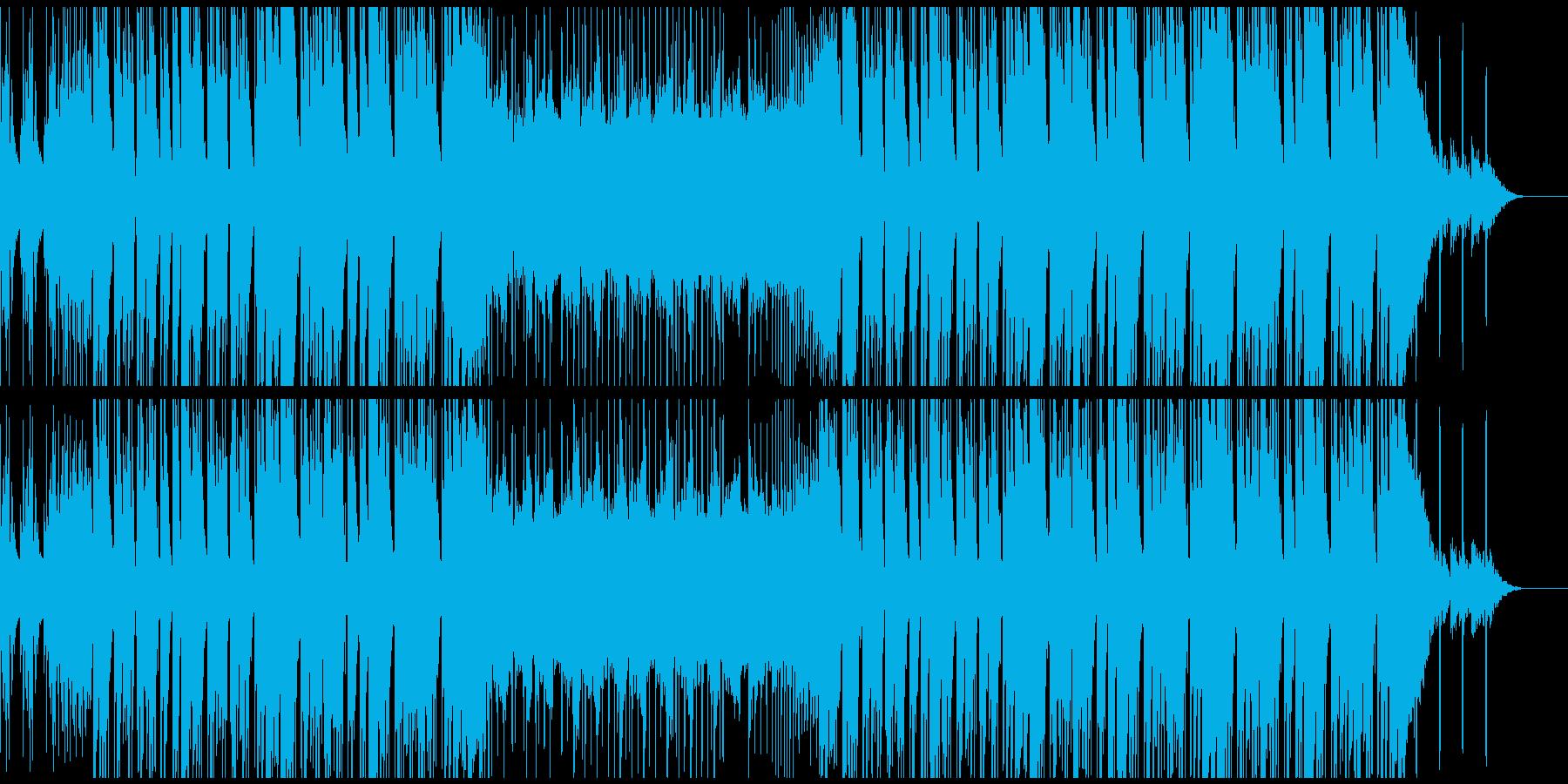 CMや映像等に クールでスマートなEDMの再生済みの波形