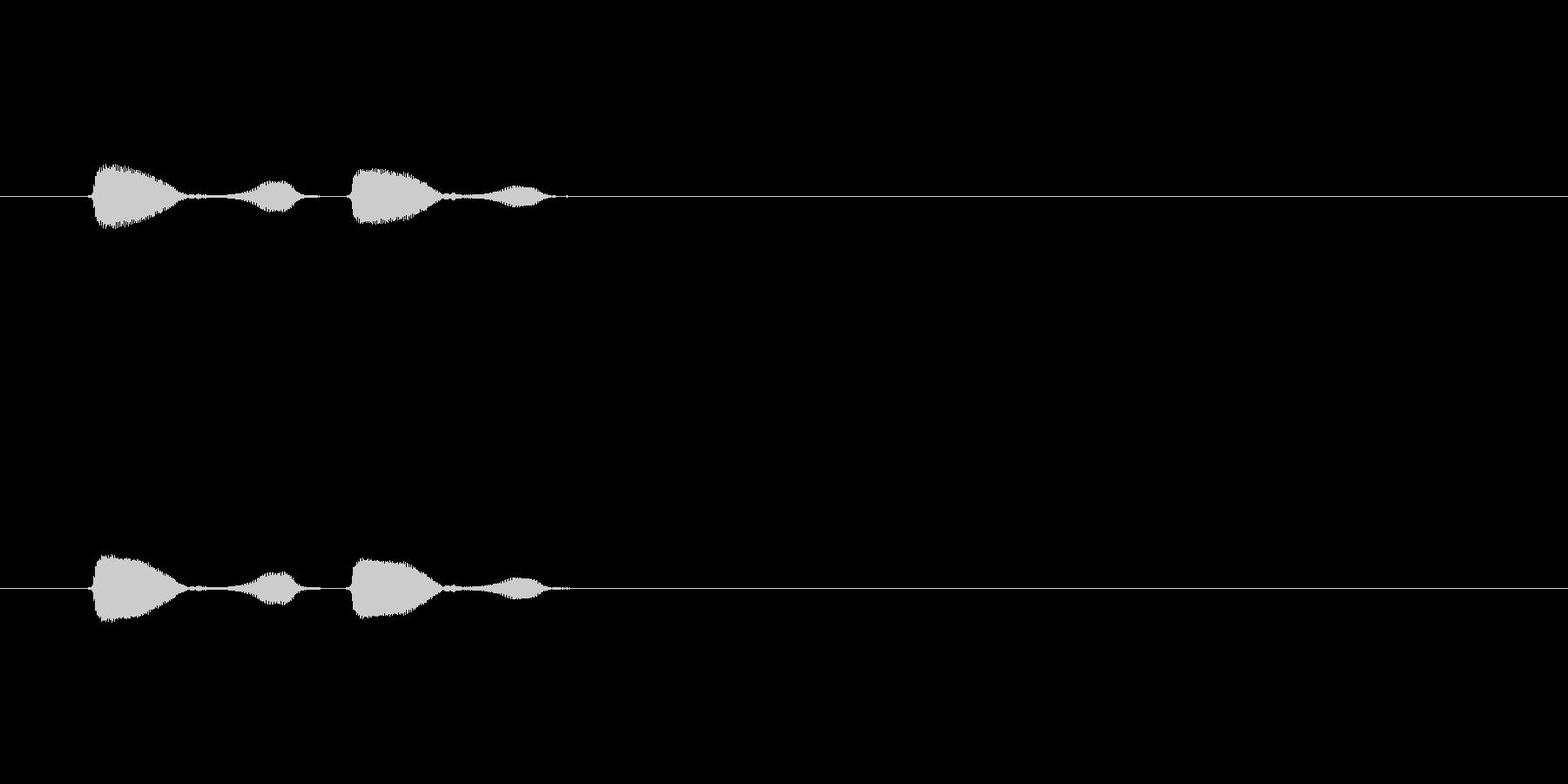 【パフパフラッパ01-4】の未再生の波形