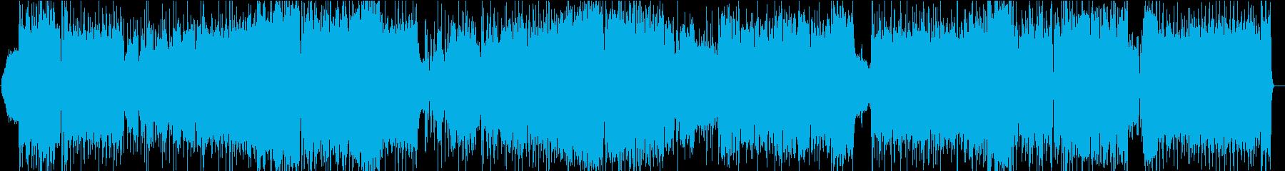 OP向け⁉︎ツインボーカル高速デジロックの再生済みの波形