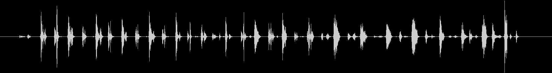 ソノグラム;内部の人間の空洞の心臓...の未再生の波形