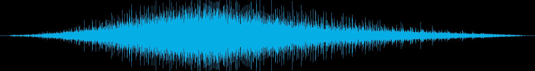 機械 ジグソーエンジン中速中長さ02の再生済みの波形