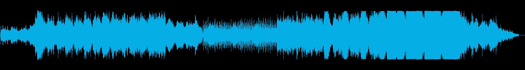 異世界をイメージした静かなオーケストラの再生済みの波形
