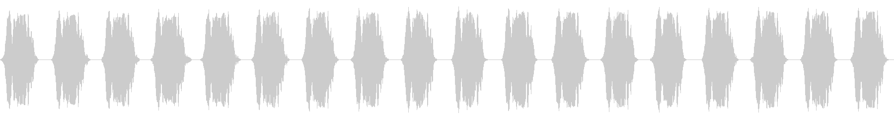 携帯電話 バイブレーション02-03(クの未再生の波形