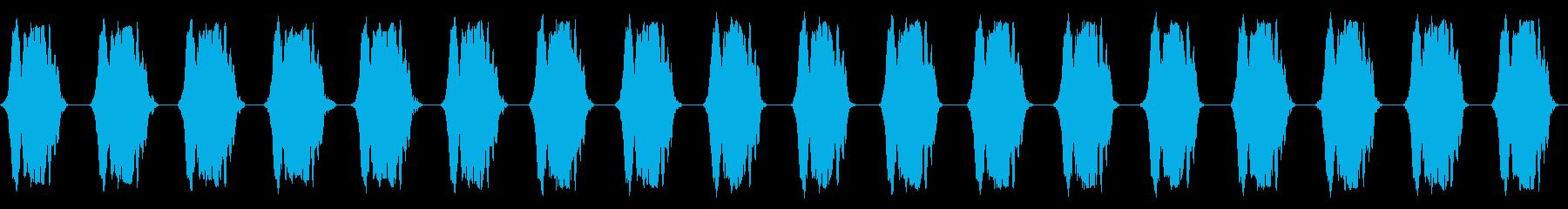 携帯電話 バイブレーション02-03(クの再生済みの波形