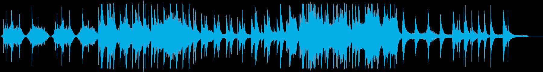 和風 バラード・美しい琴の再生済みの波形