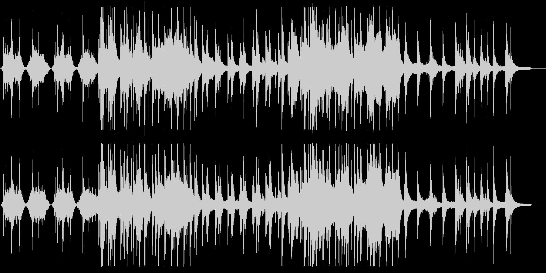 和風 バラード・美しい琴の未再生の波形