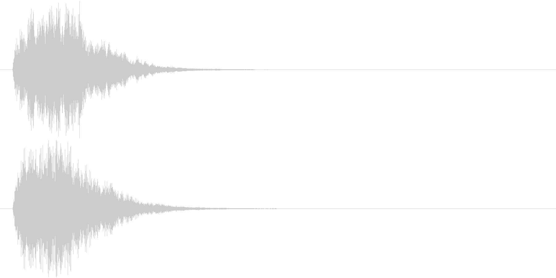 ポワン(HP回復・光魔法・輝く・癒し)の未再生の波形