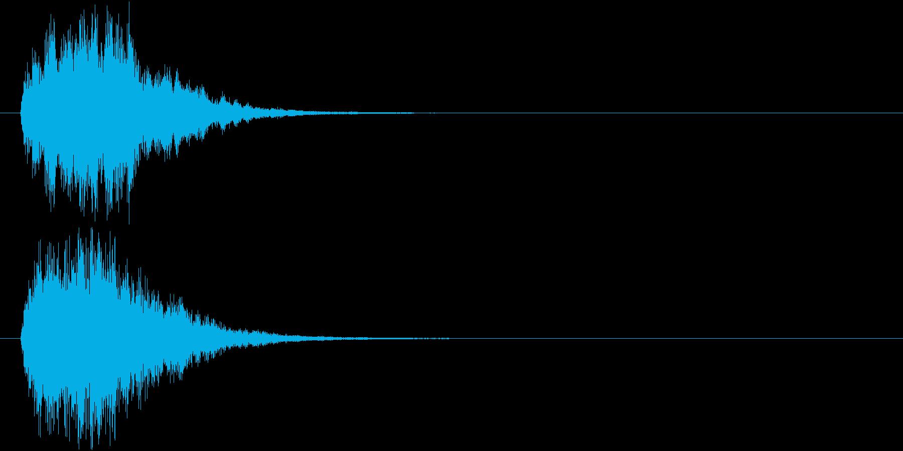 ポワン(HP回復・光魔法・輝く・癒し)の再生済みの波形