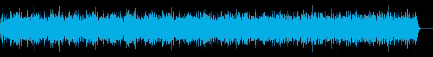 機械稼働音5の再生済みの波形