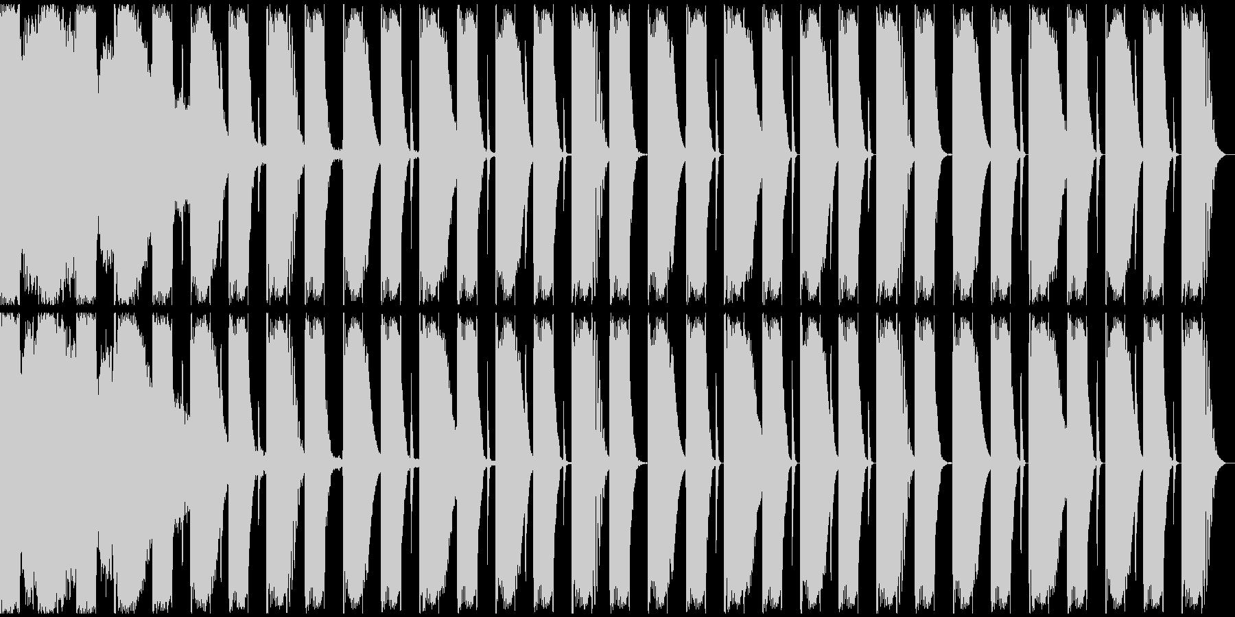 【エレクトロニカ】ロング2、ジングル1の未再生の波形
