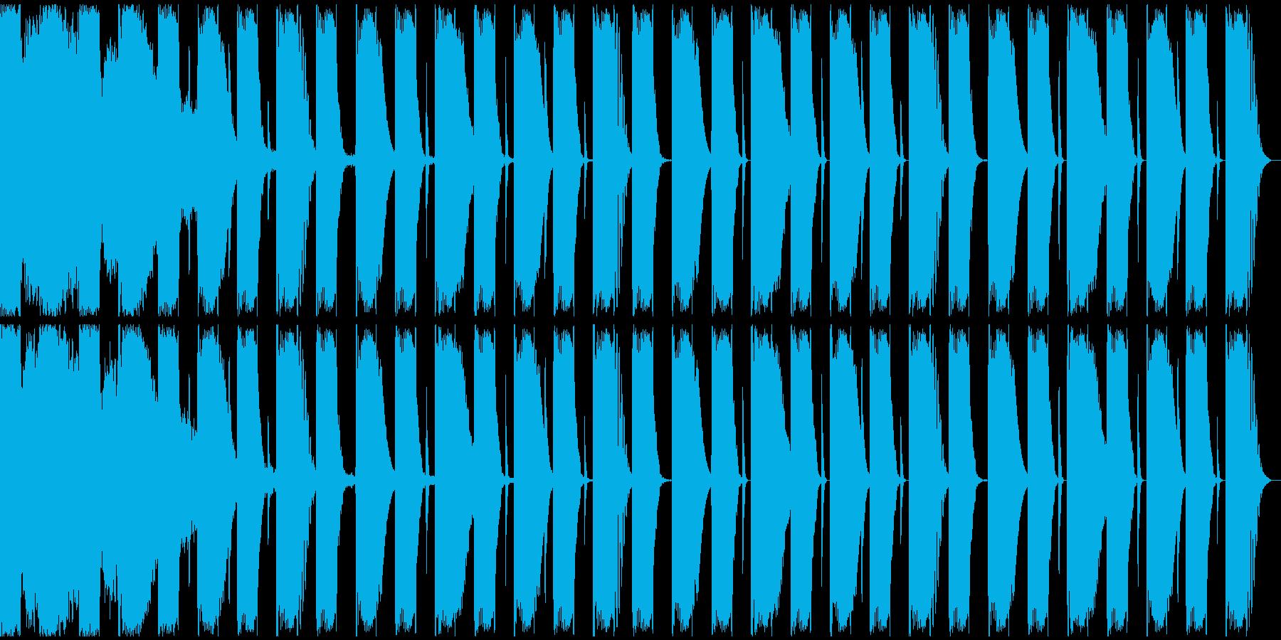 【エレクトロニカ】ロング2、ジングル1の再生済みの波形