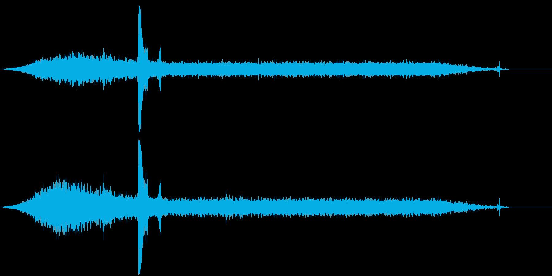 ピータービルトセミトラック:ミディ...の再生済みの波形
