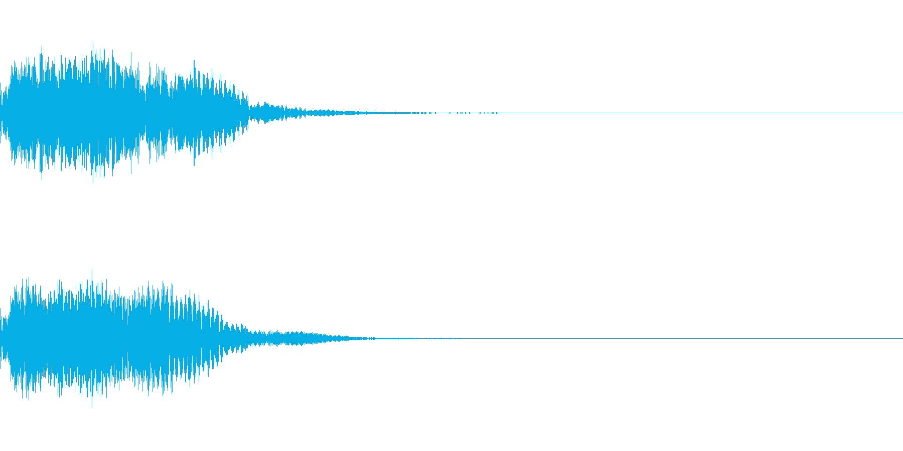 キュイン キーン シャキーン 光る 06の再生済みの波形