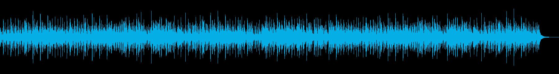 ふんわりと暖かなウィンターワンダーランドの再生済みの波形