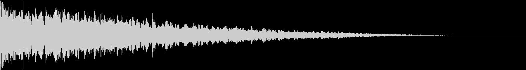 ドンとバン:都市伝説などのテロップ時3の未再生の波形